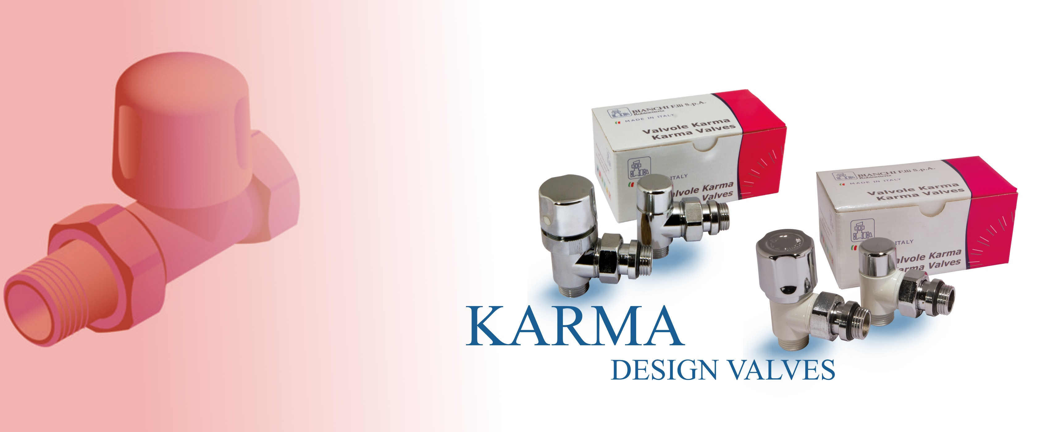 KARMA design valves