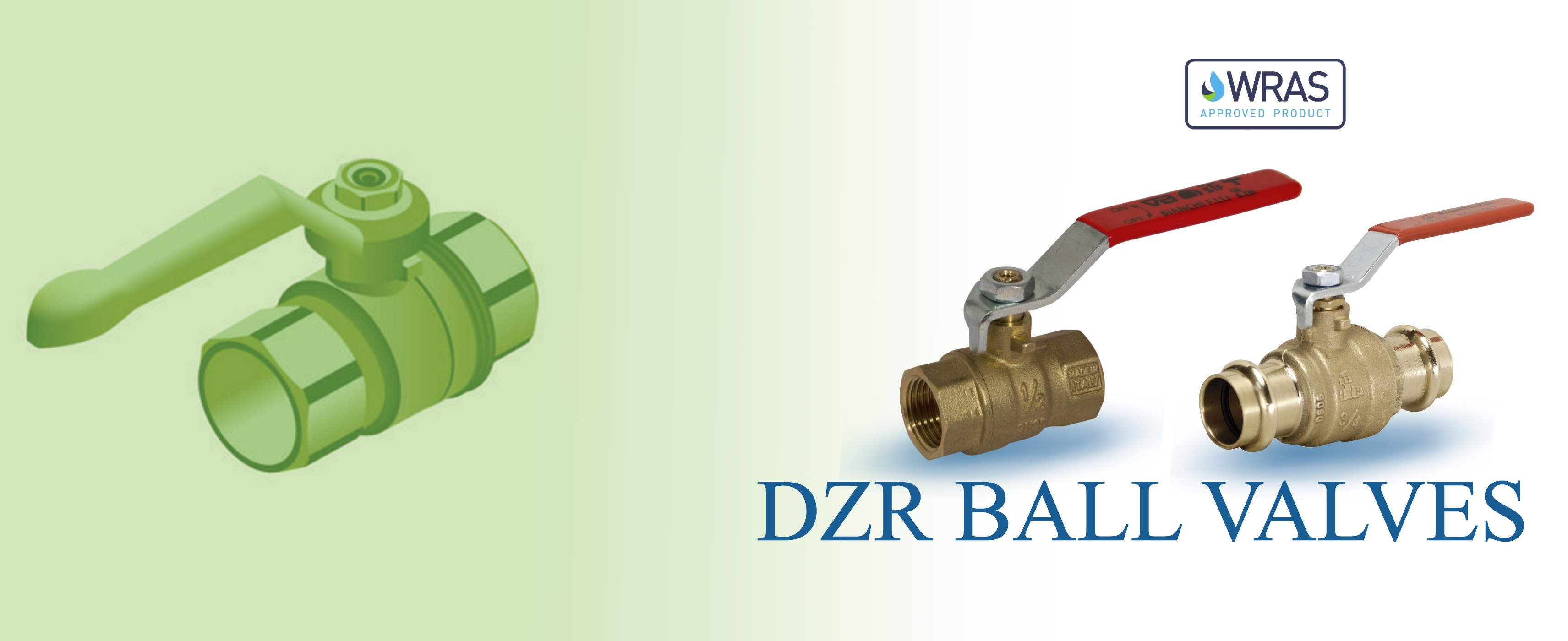 DZR ball valves